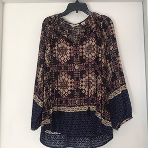 Anthropologie peasant top